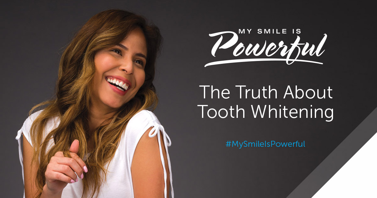 Opalescence My Smile Is Powerful - The Truth About Tooth Whitening