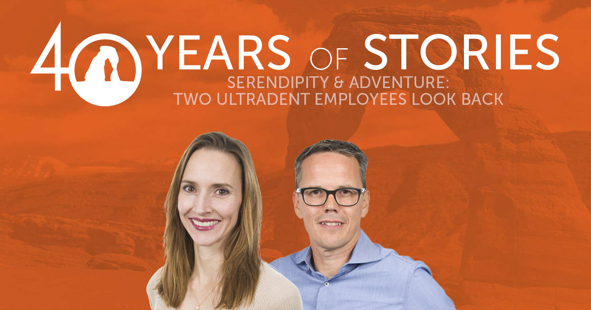 40 Years of Stories: Find out how Dr. Fischer has made an impact  on the lives of two longtime Ultradent employees.