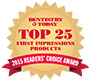 2015 Dentistry Today Top 25 First Impression Products